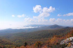 Fall on Rough Ridge Overlook